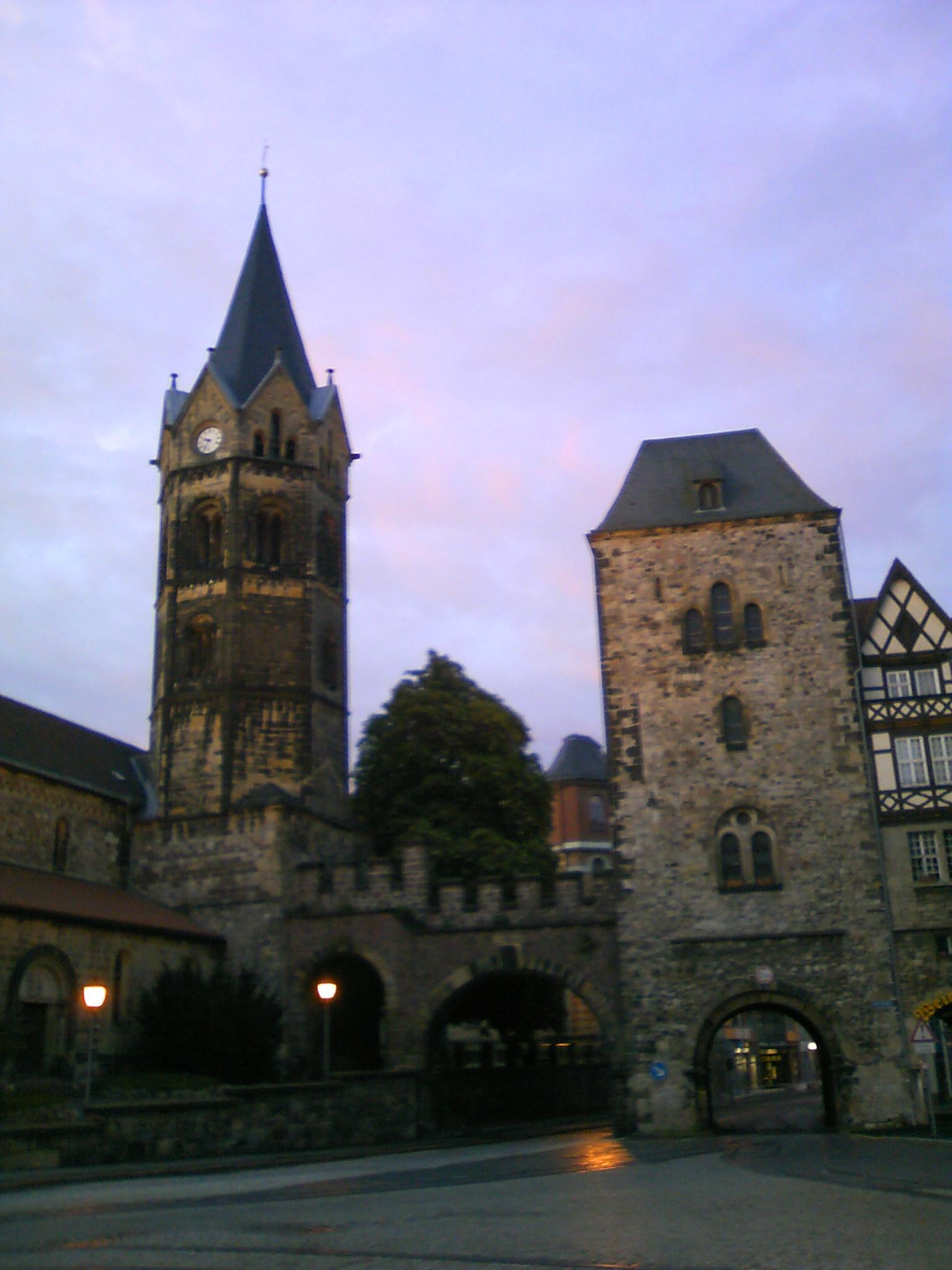 世界遺産の城の街アイゼナハ・・...
